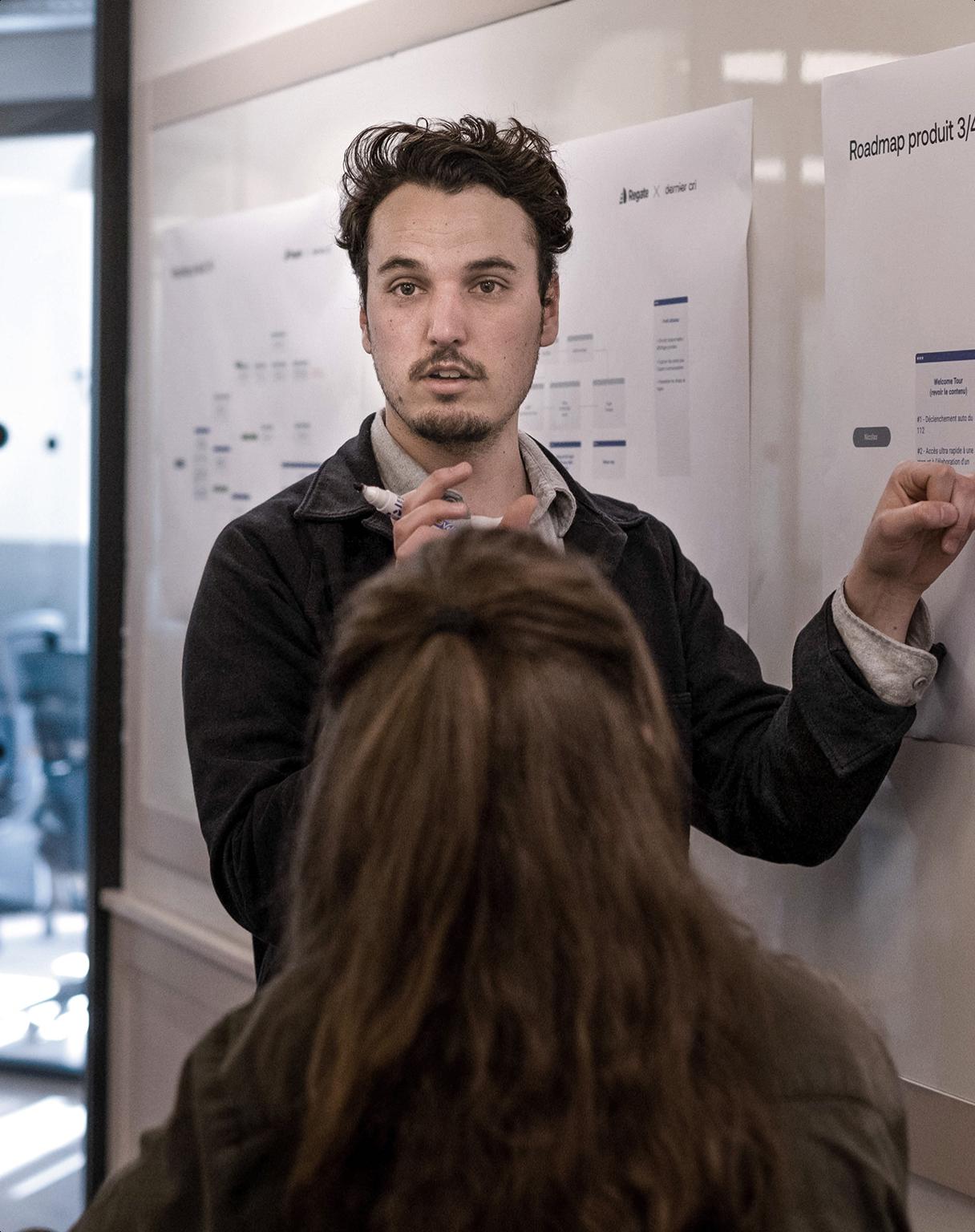 Un designer explique le parcours utilisateur