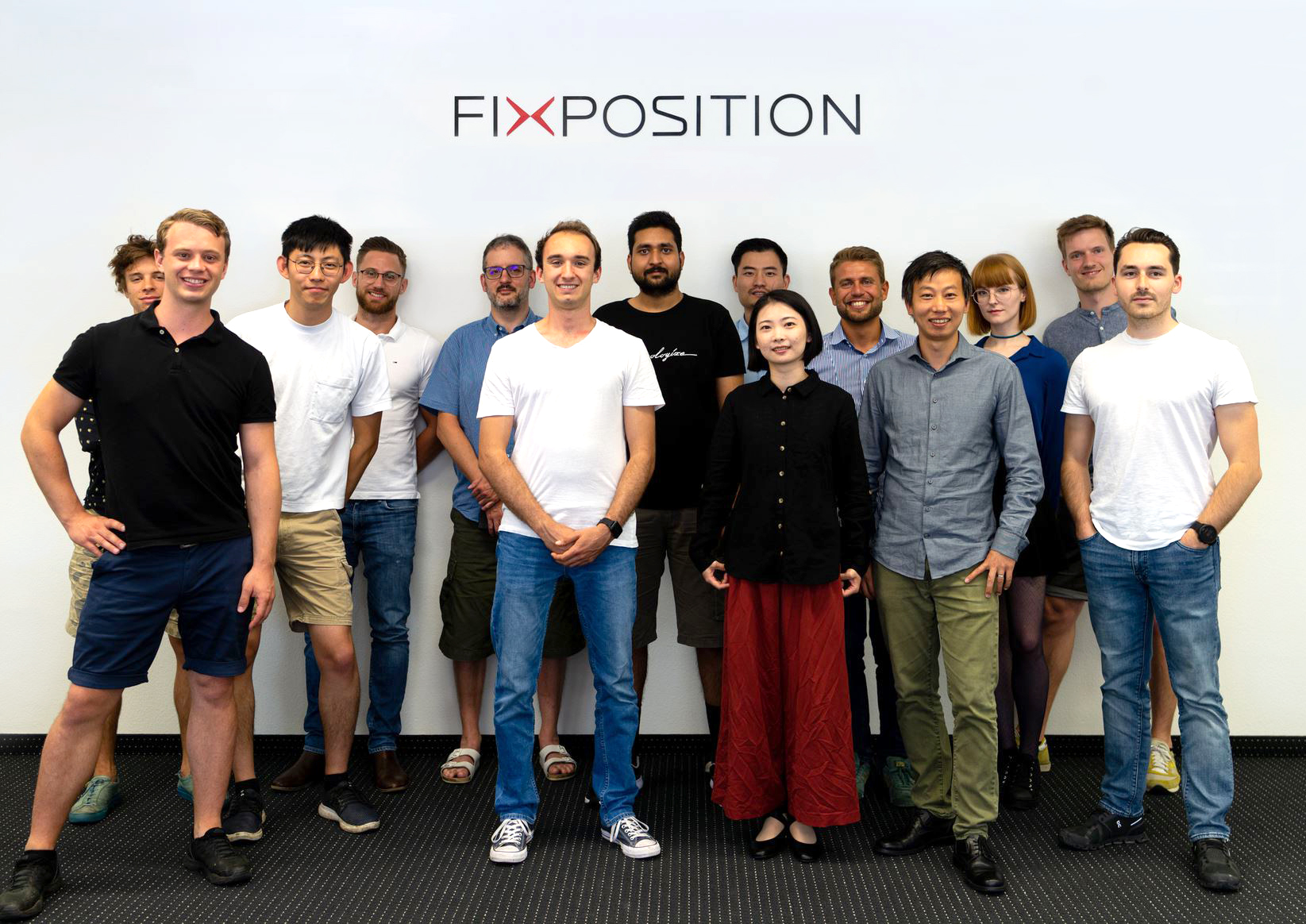 Fixposition team, Schlieren Switzerland 2020