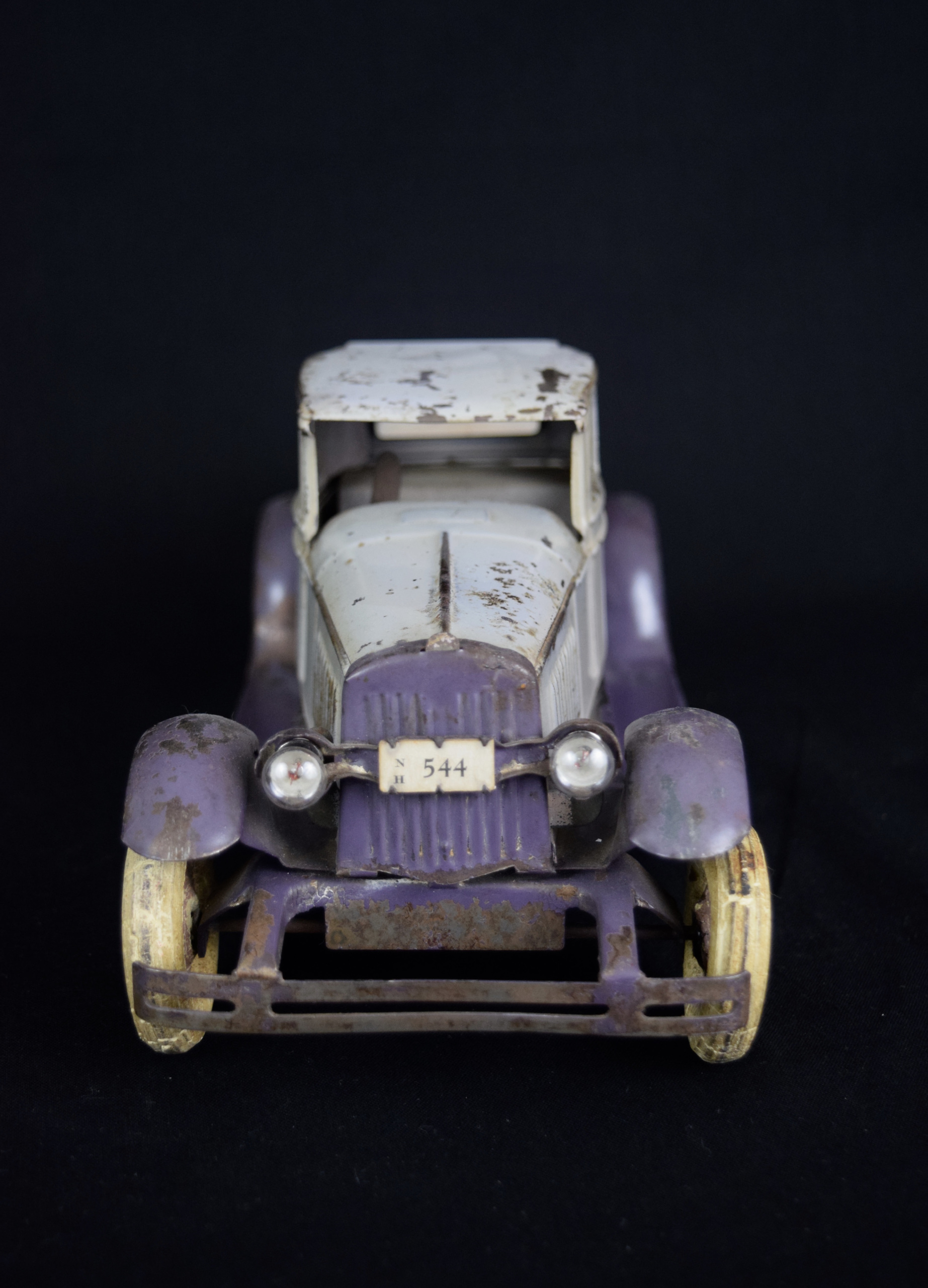 Kingsbury Coupe Pressed Steel Toy, ca 1925 USA