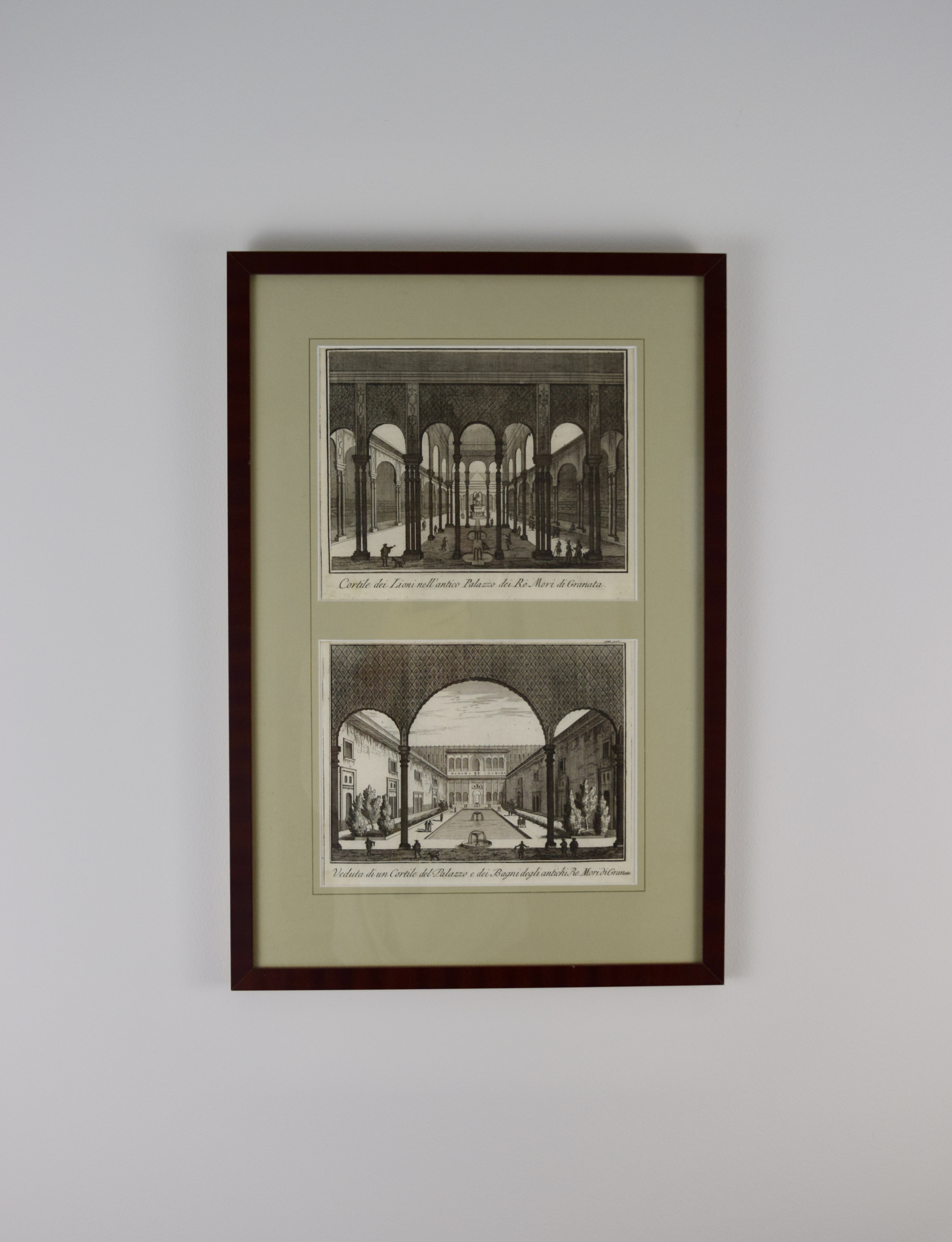 Original prints - Alhambra of Granada (Spain)