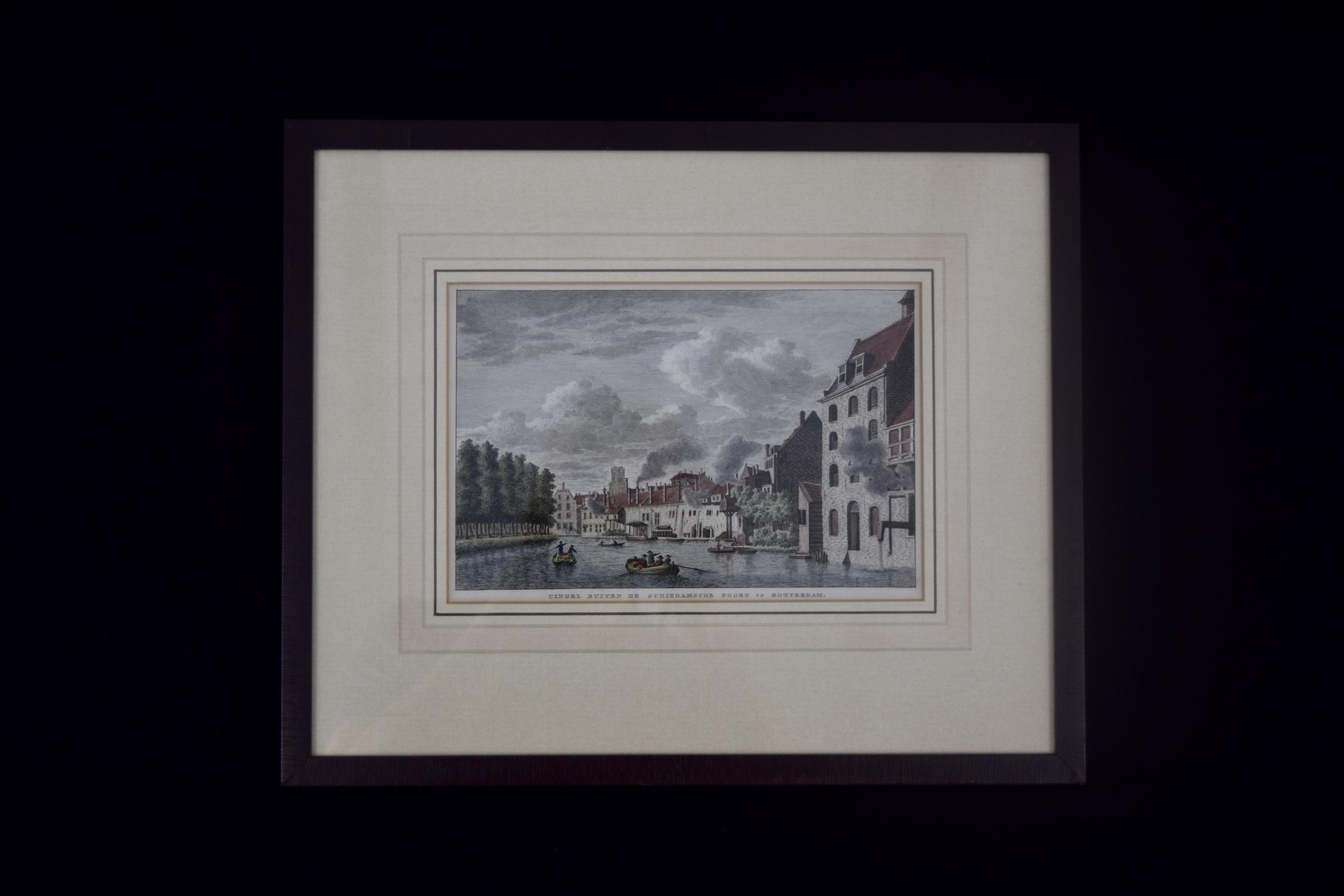 Original print of Rotterdam