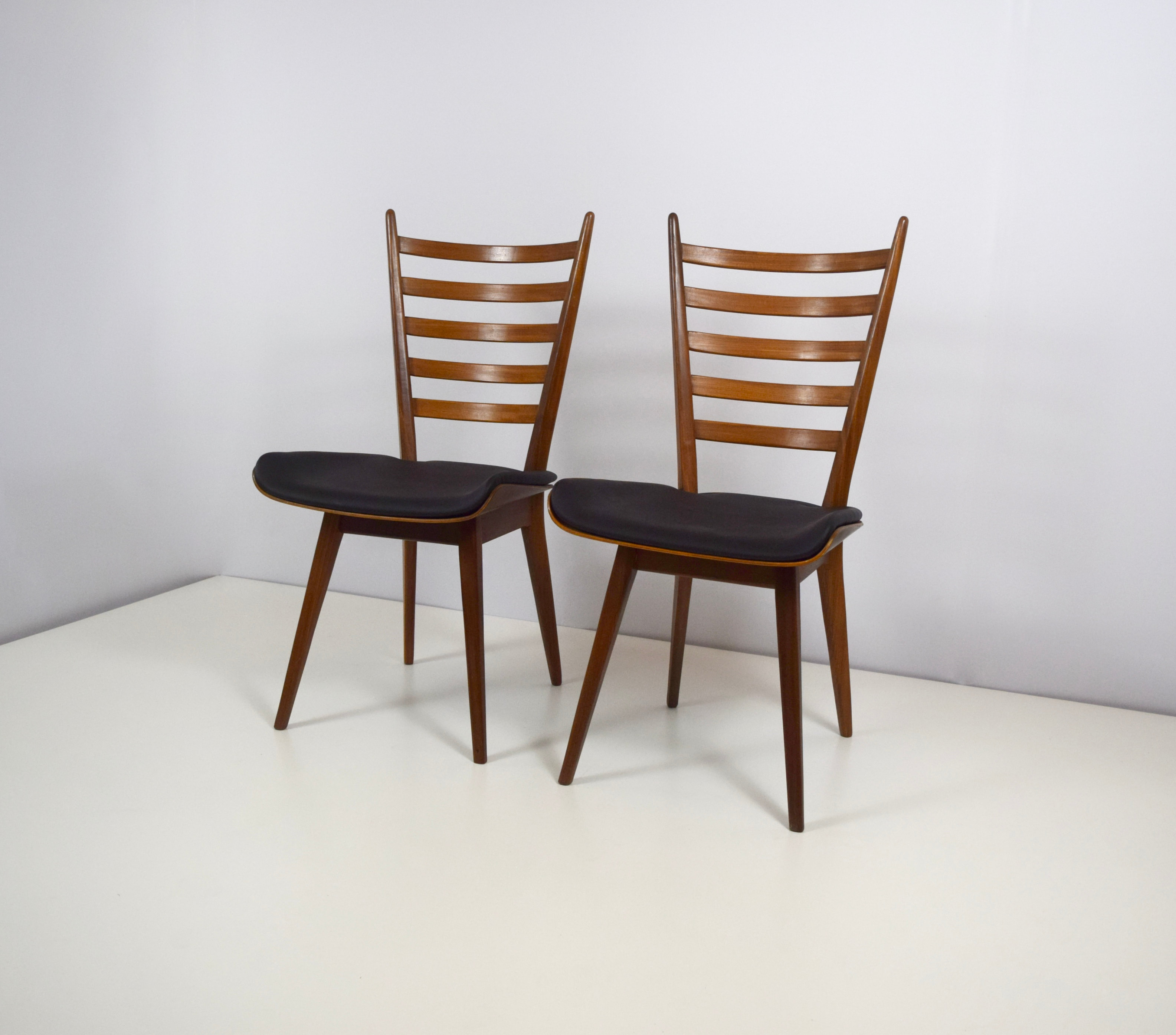Dining Chairs in the style of Cees Braakman for Pastoe, The Netherlands 1950's