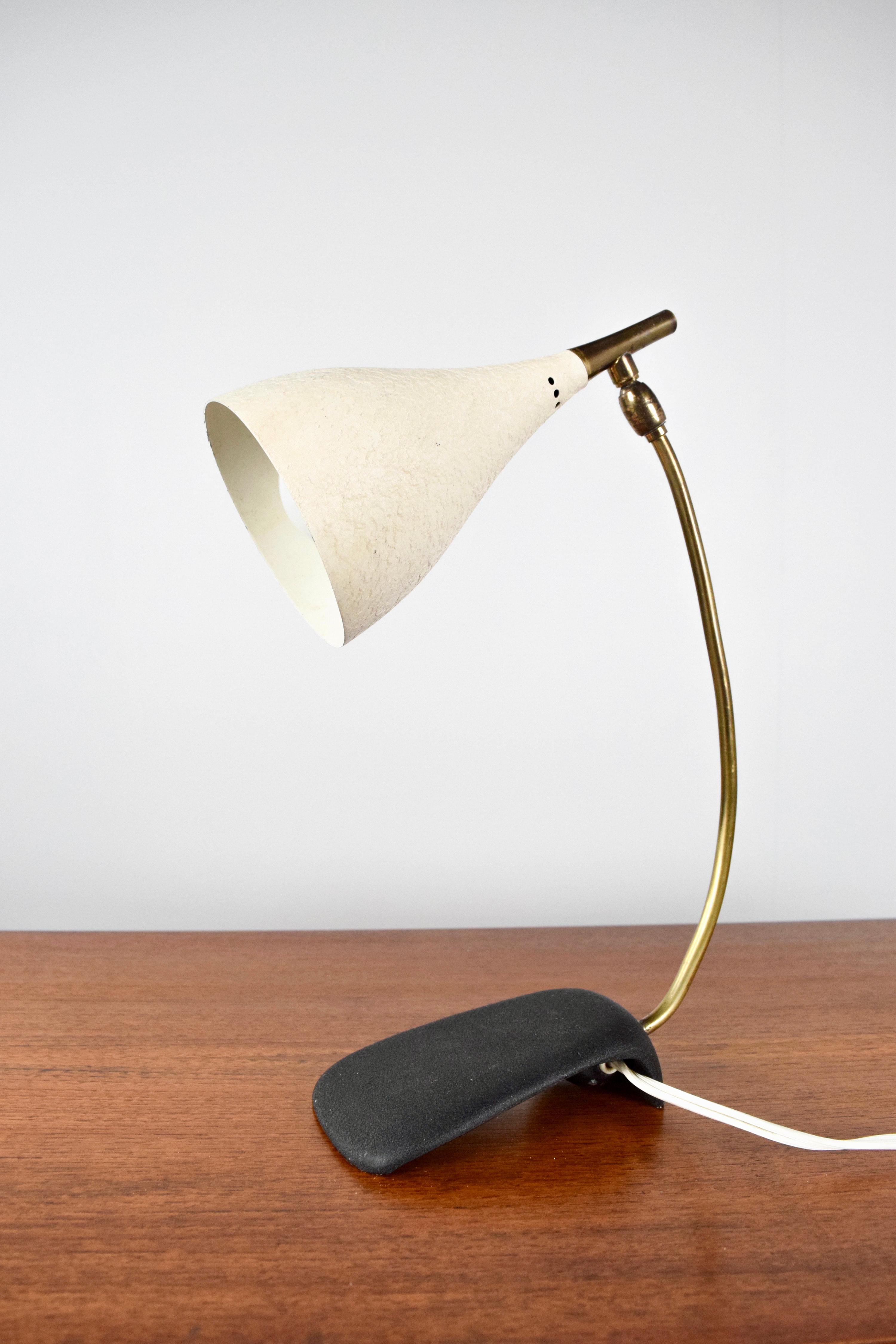 Minimalist Desk Lamp by Gebrüder Cosack, Germany 1950's