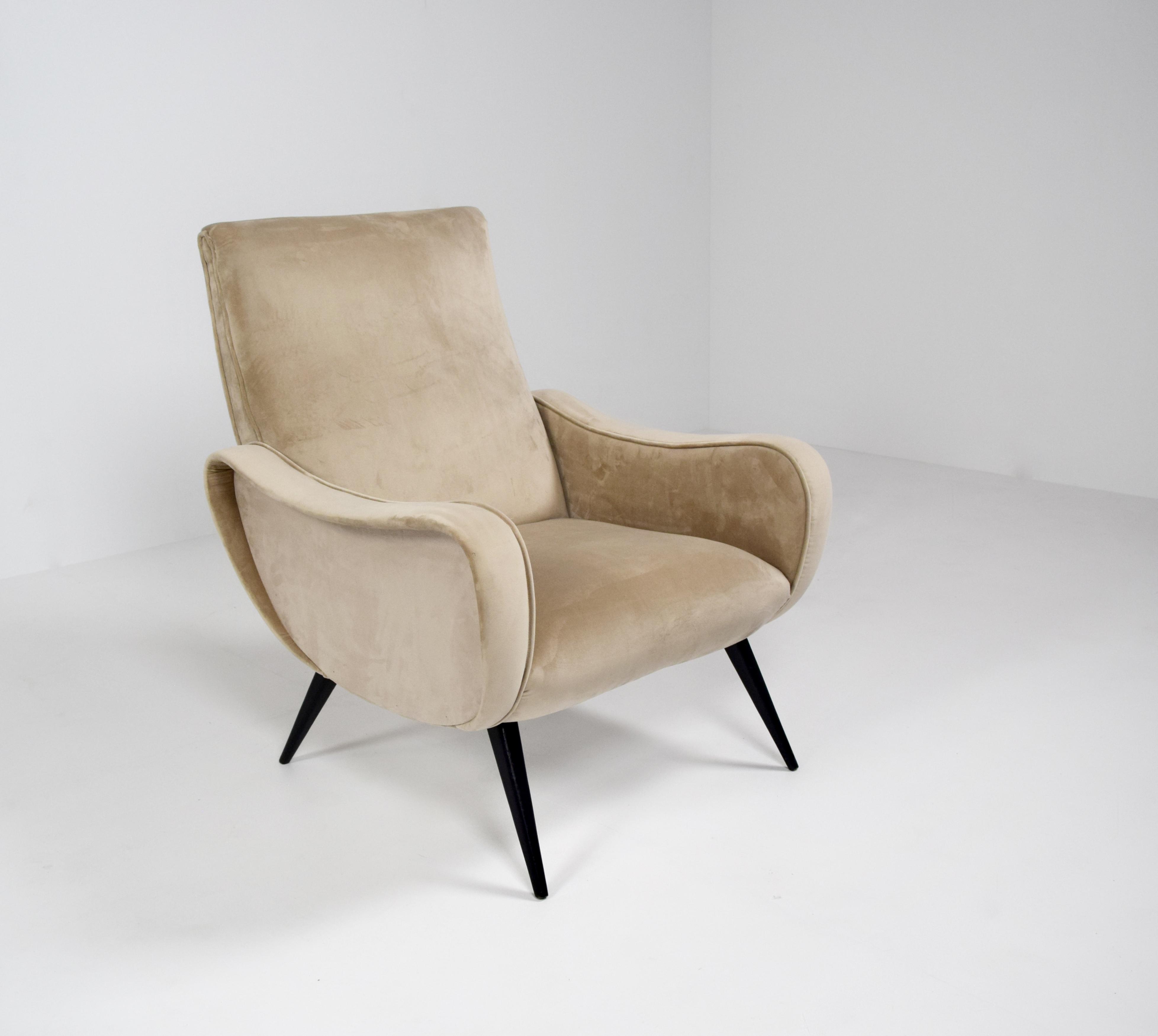 Poltrona Lady Arm Chair by Marco Zanuso, Italy 1960