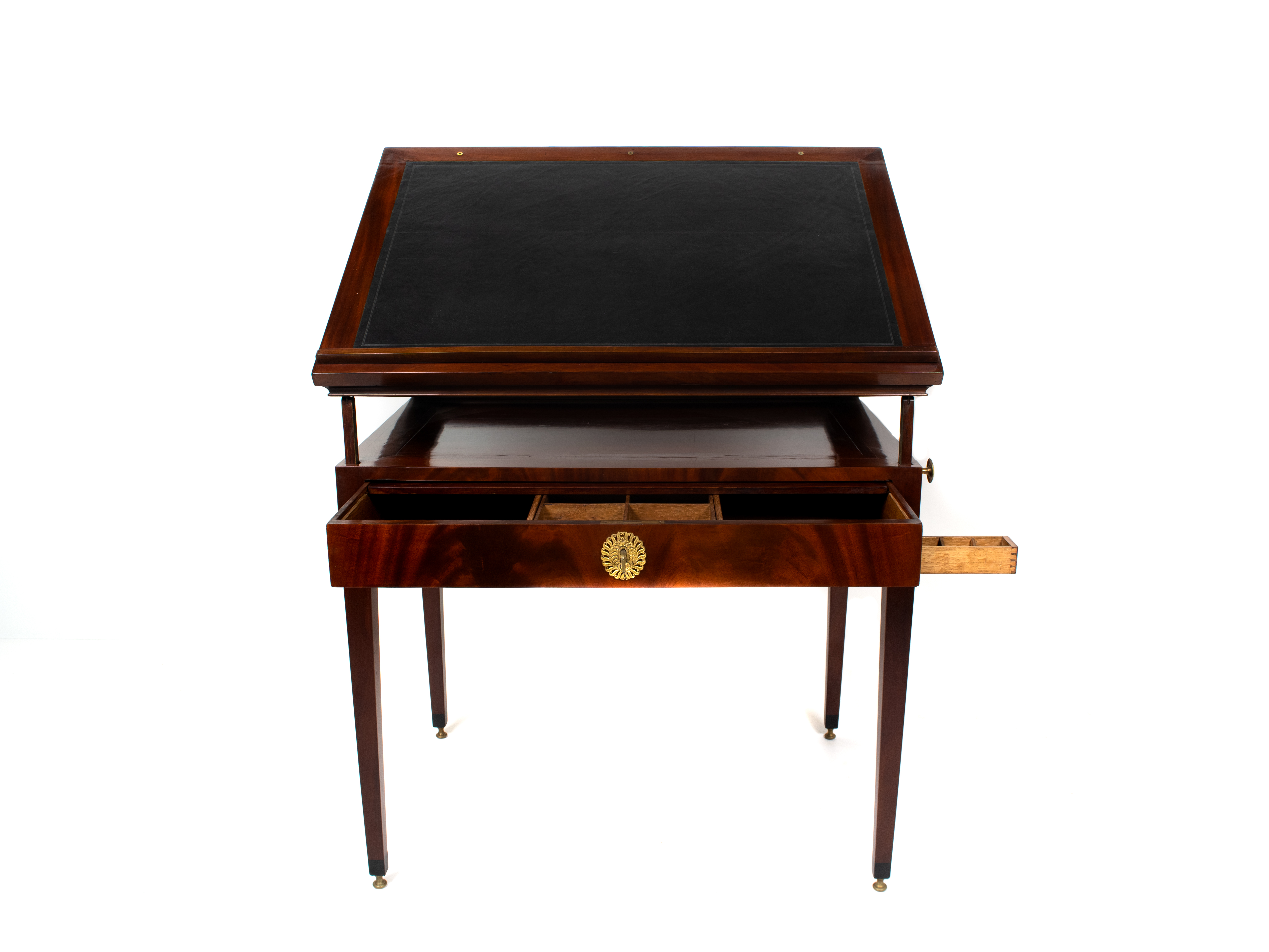 Mahogany Architects Table Jean-Joseph Chapuis, Brussels ±1800