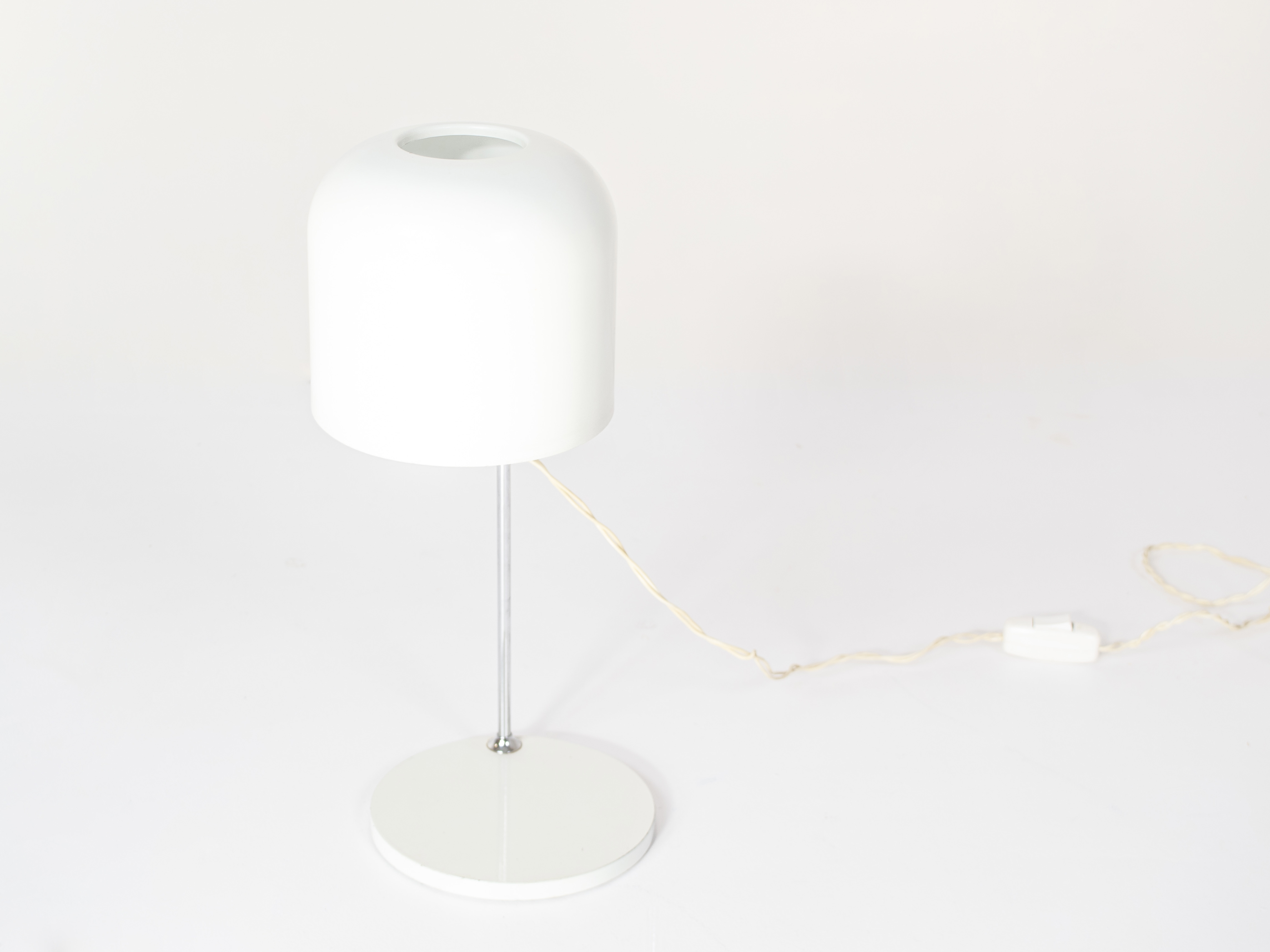 Rare Metalarte Table Lamp by André Ricard, Spain 1960s