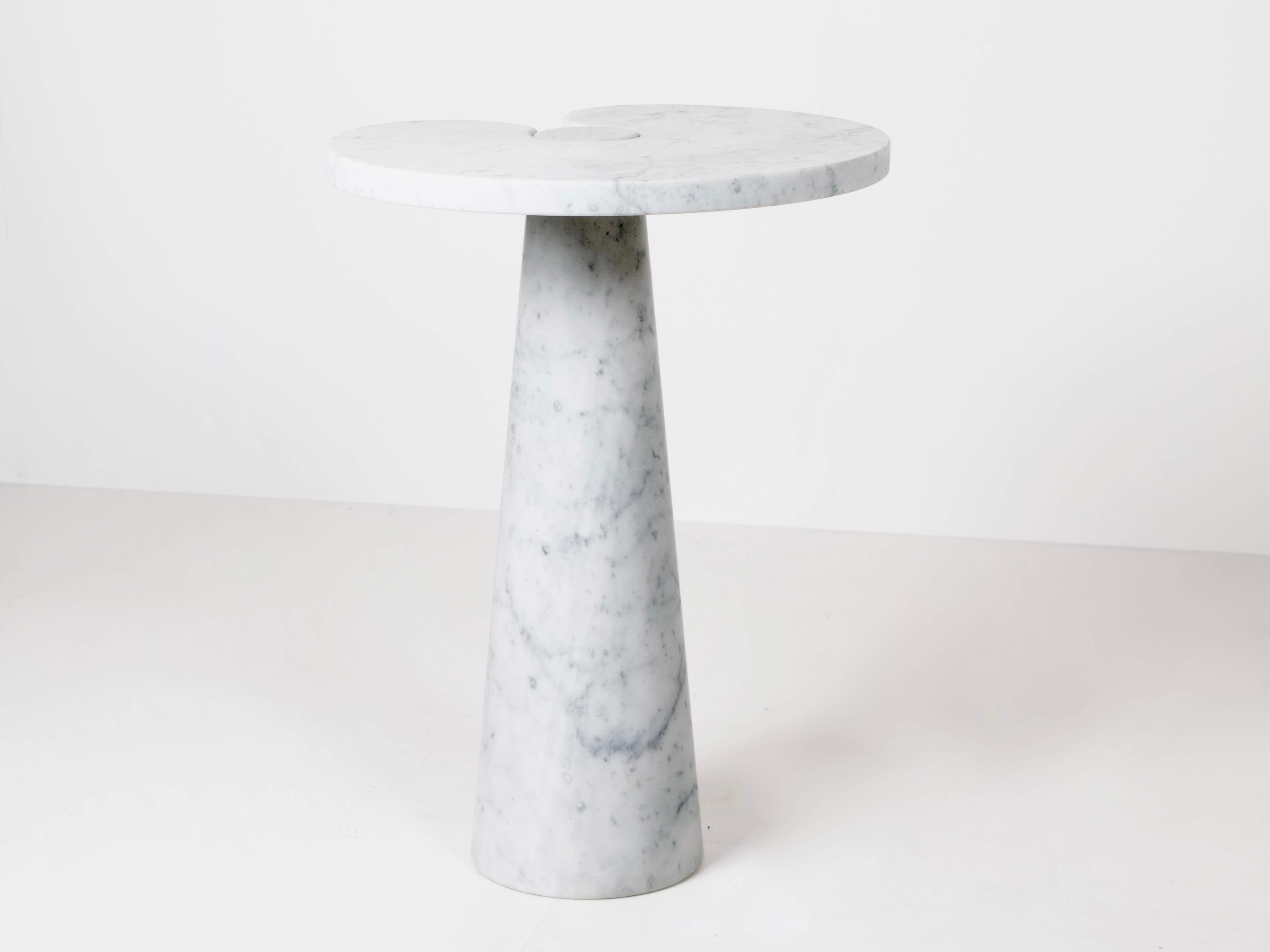 Angelo Mangiarotti Marble Side Table Model Eros for Skipper, Italy 1970s