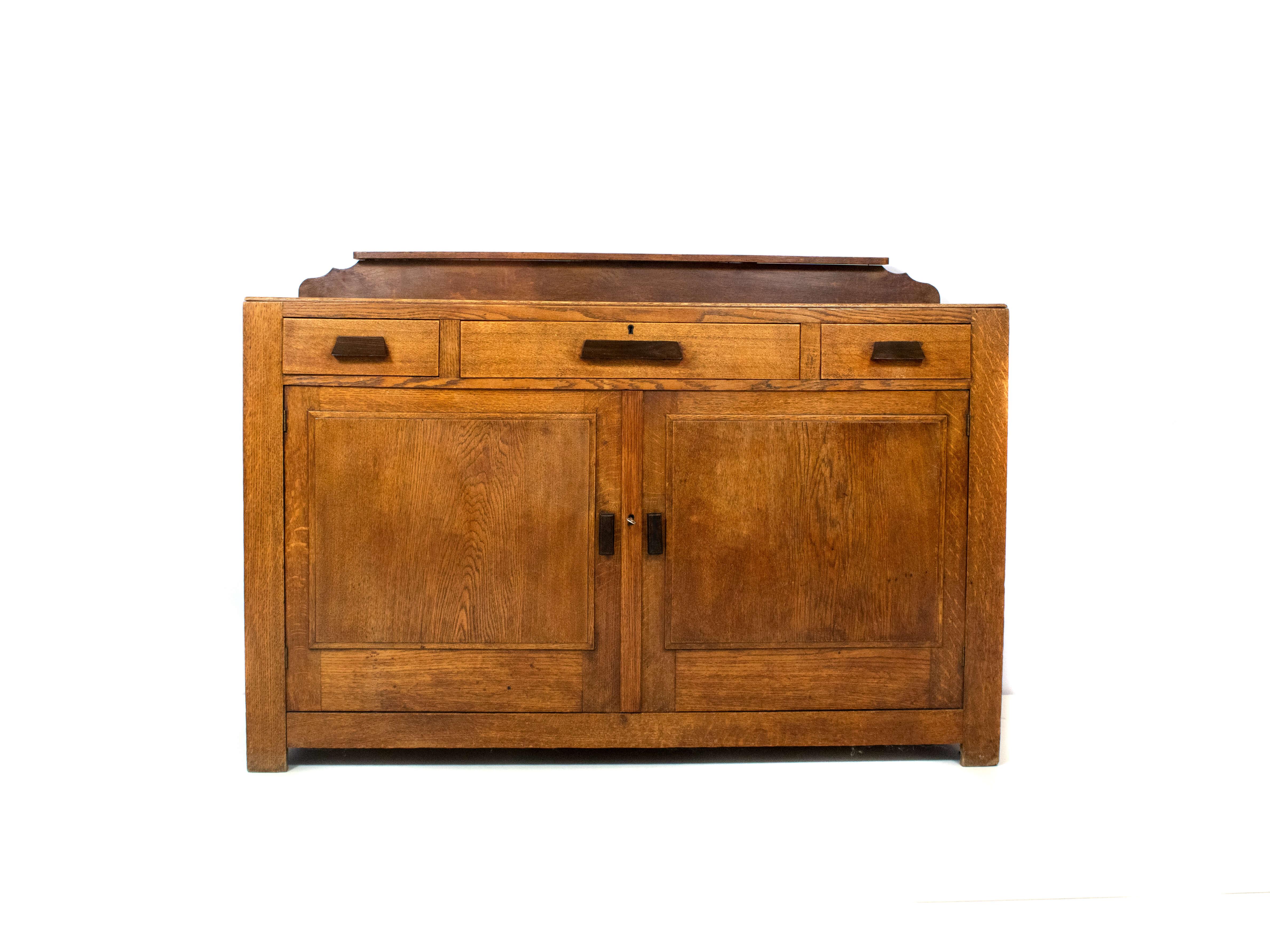 Minimalistic Amsterdam School Dresser, The Netherlands ~1920s