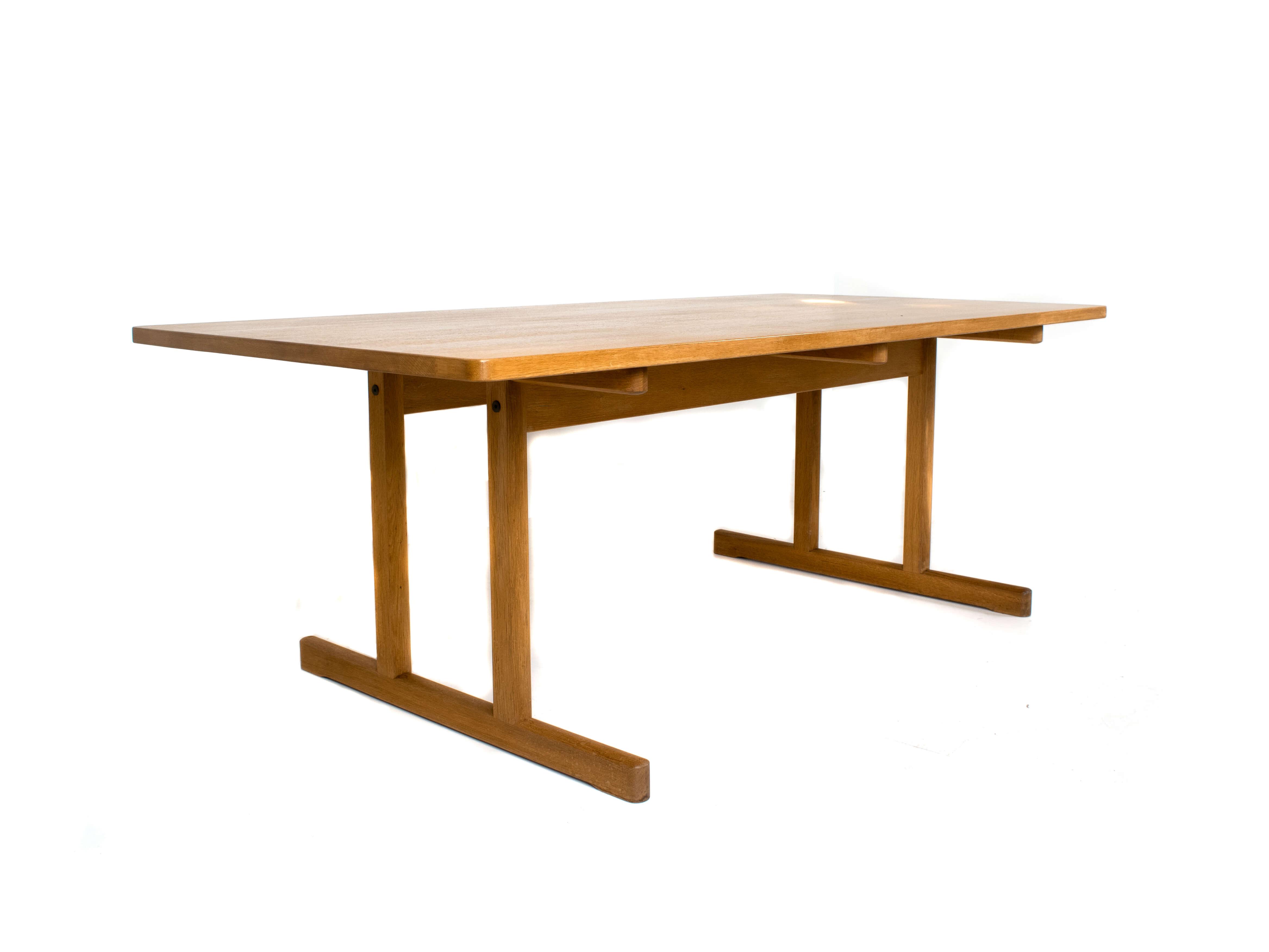 Børge Mogensen Shaker Dining Table Model 6286 for Fredericia, Denmark 1960s