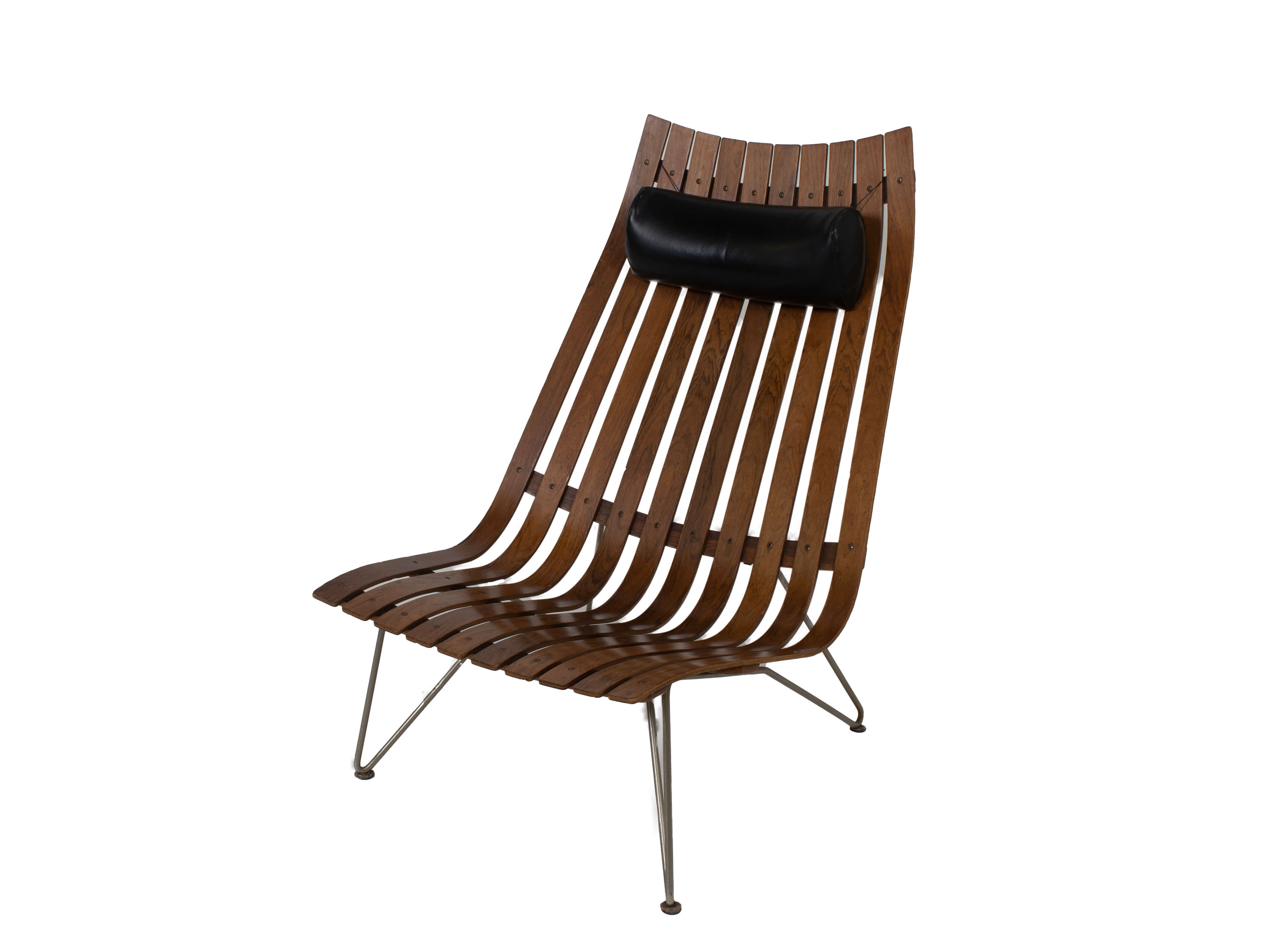 Lounge Chair by Hans Brattrud Model Scandia for Hove Møbler, Norway 1960s