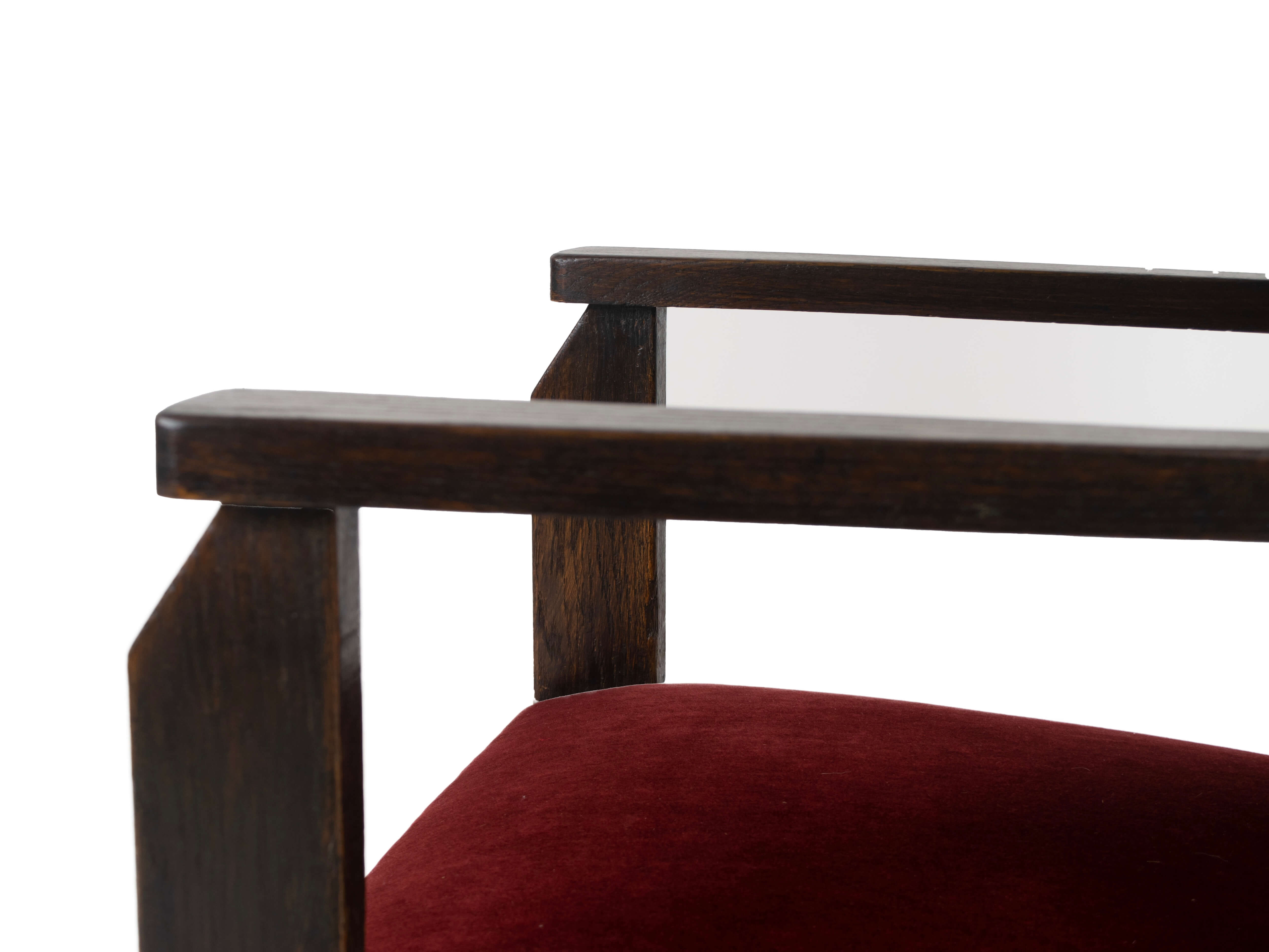 Detail Hendrik Wouda Chair