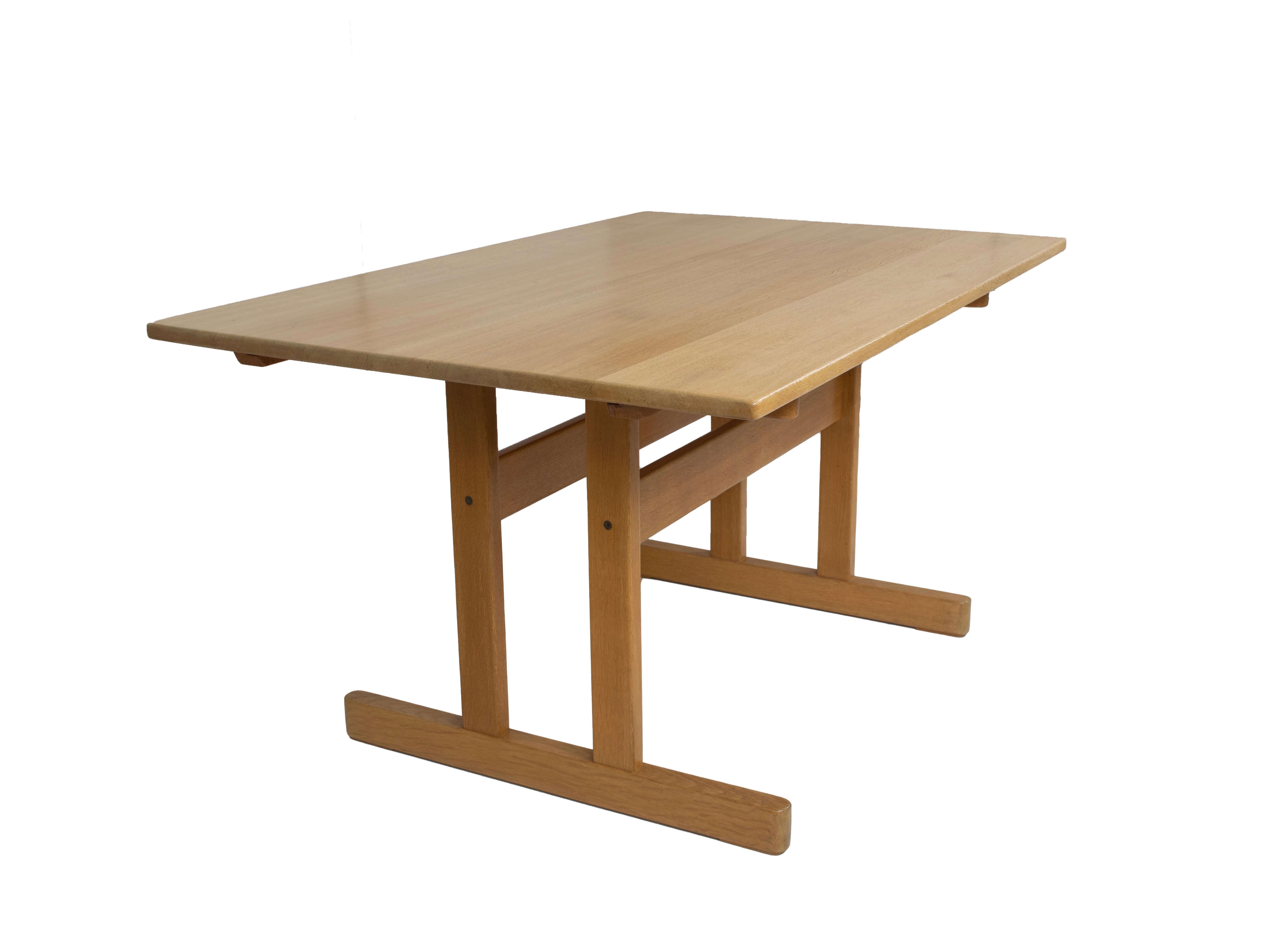 Shaker Dining Table by Kurt Østervig for KP Møbler, Denmark 1976