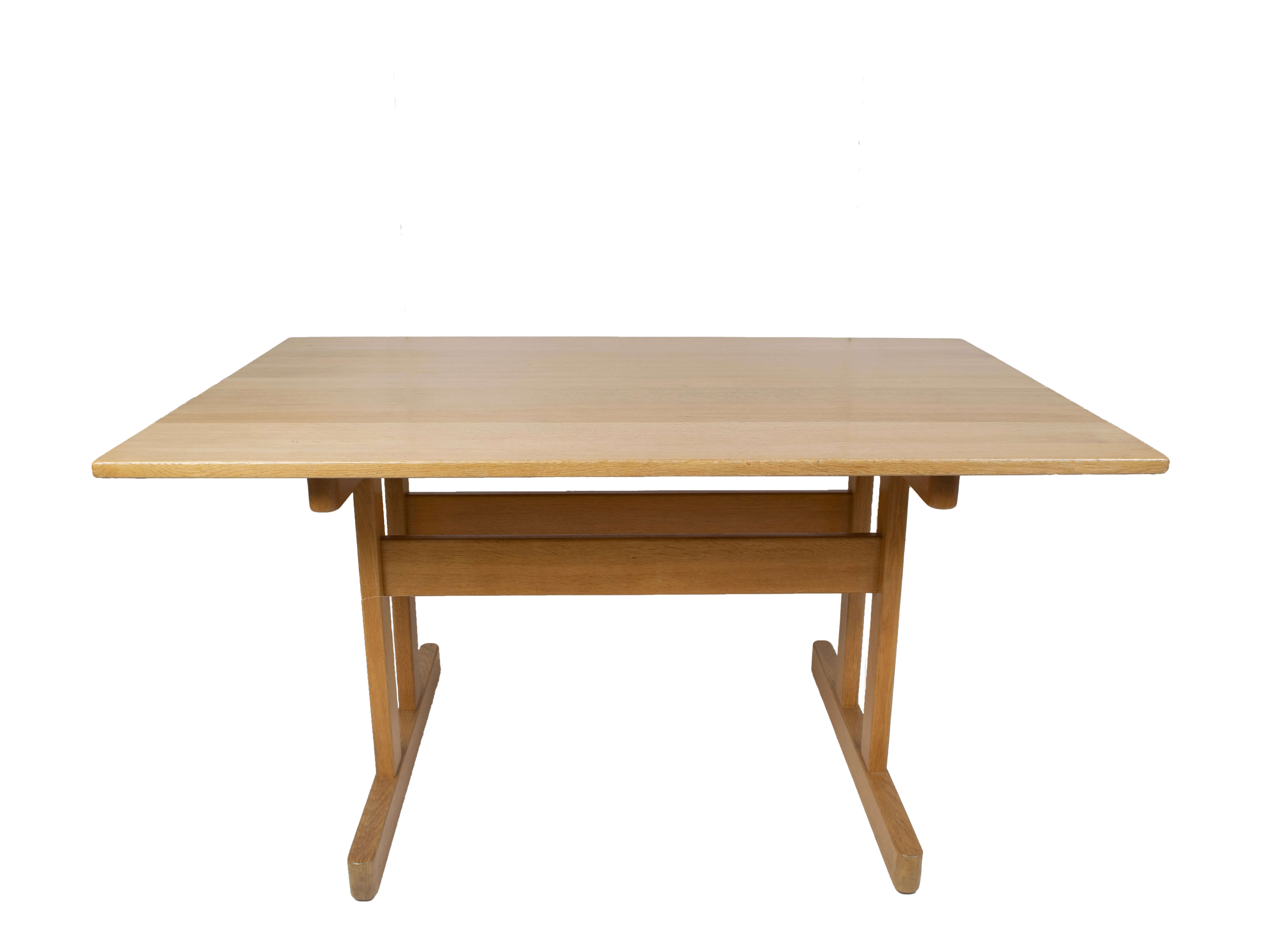 Shaker Dining Table by Kurt Østervig for KP Møbler, Denmark 1976Shaker Dining Table by Kurt Østervig for KP Møbler, Denmark 1976