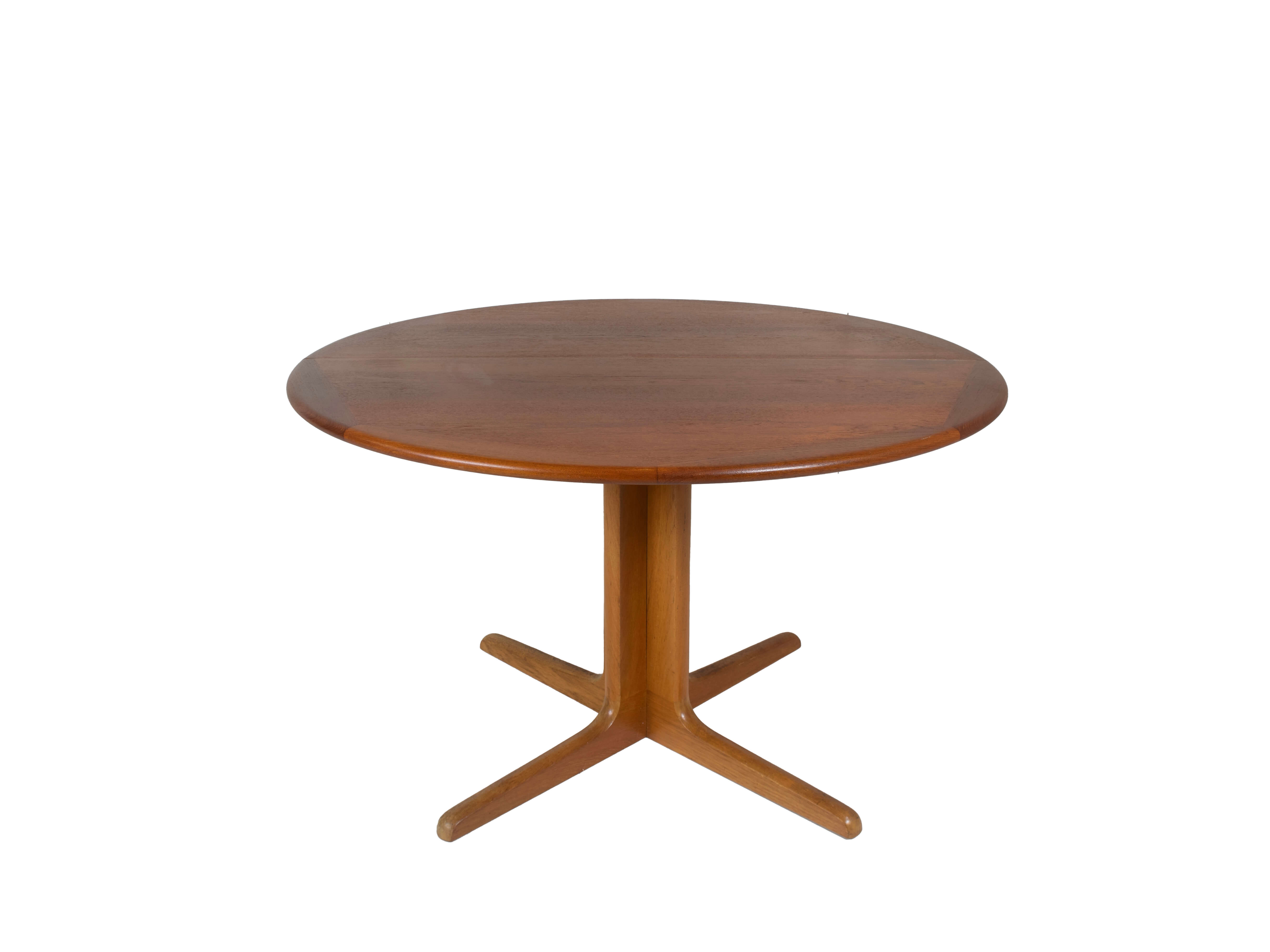 Extendable Dining Table in Teak attr. to Niels Otto Moller for Gudme, Denmark 1960s