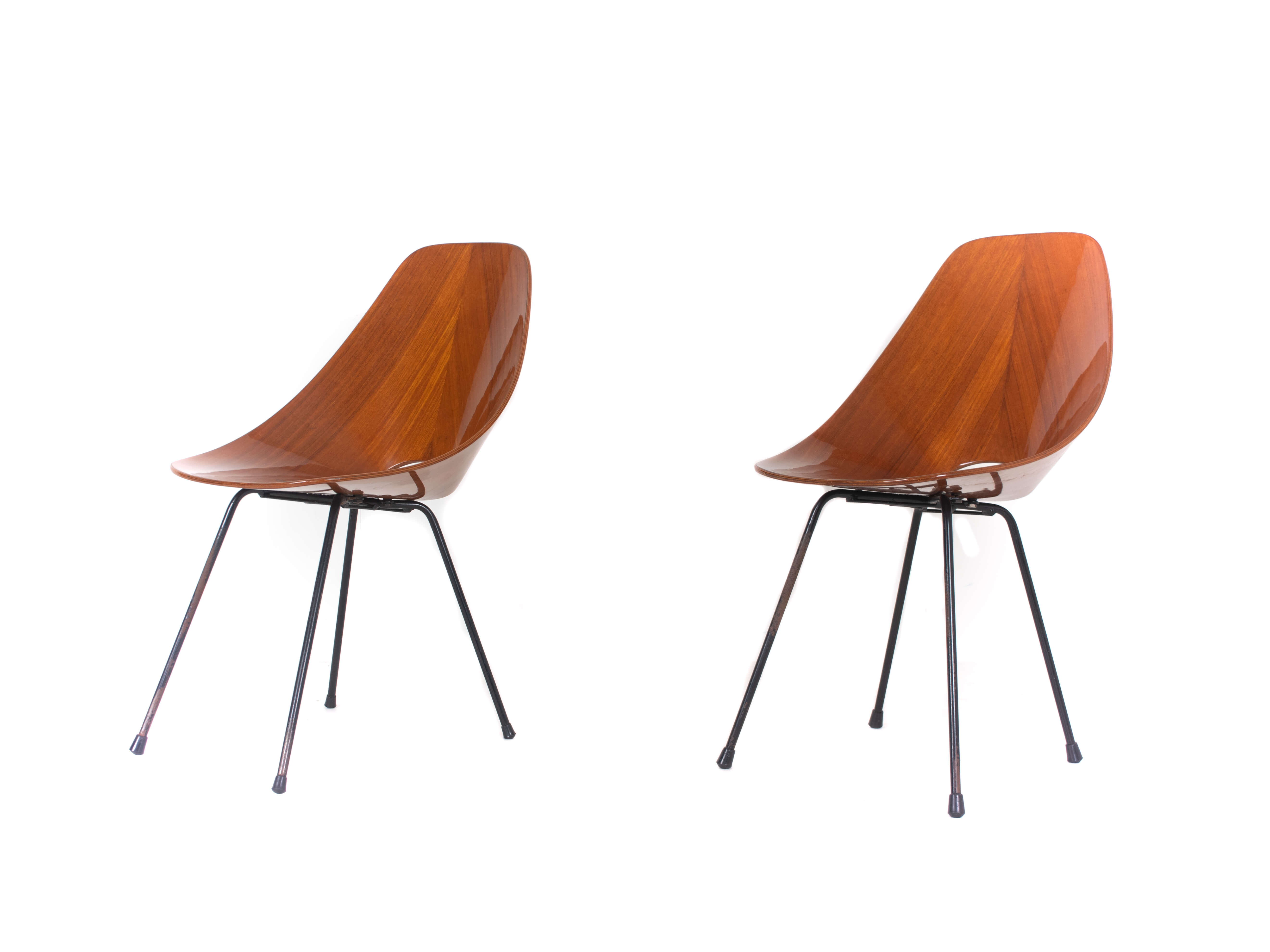 Set of Two Medea Chairs by Vittorio Nobili for Fratelli Tagliabue