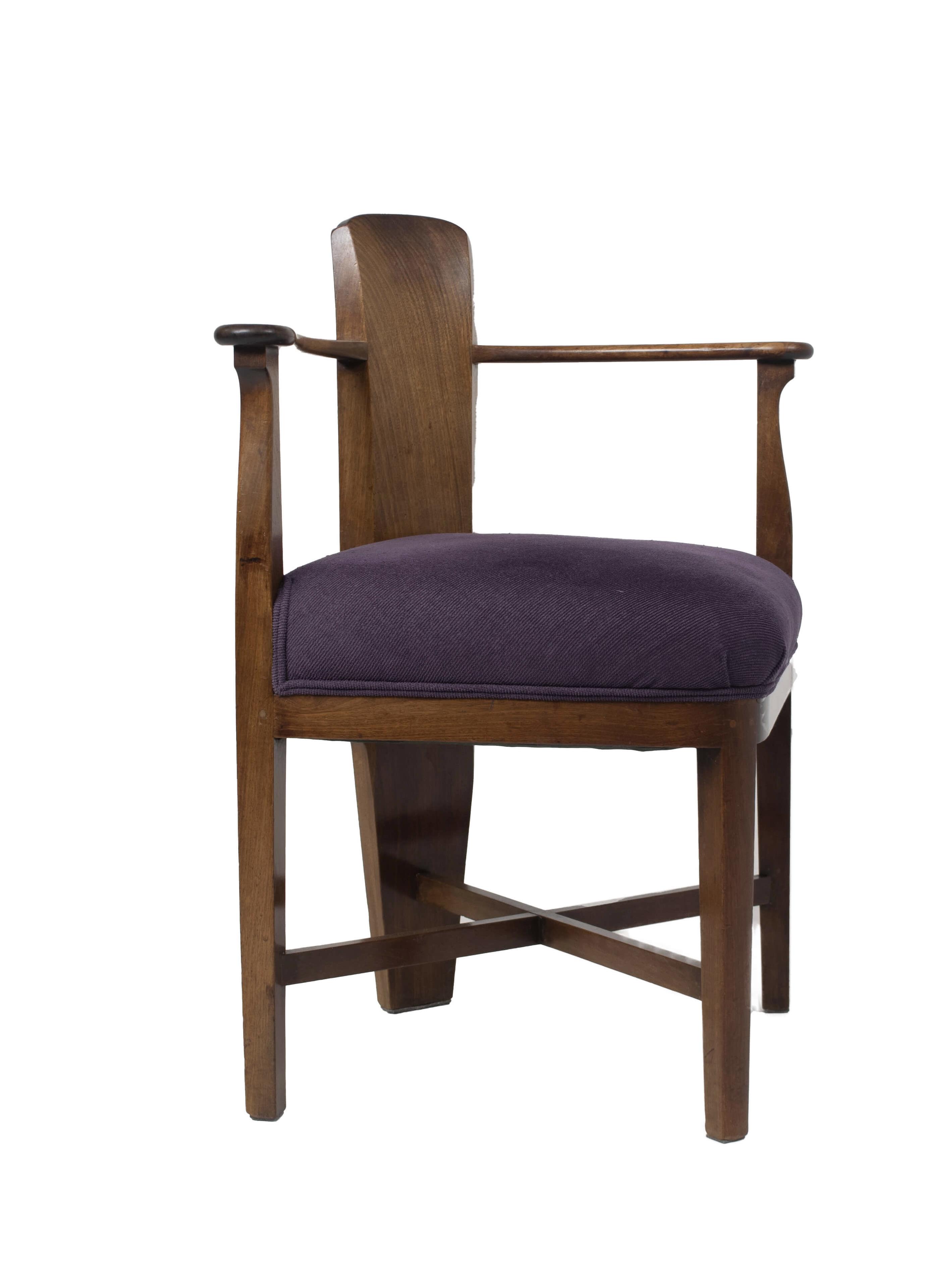 Jac. van den Bosch Corner Chair