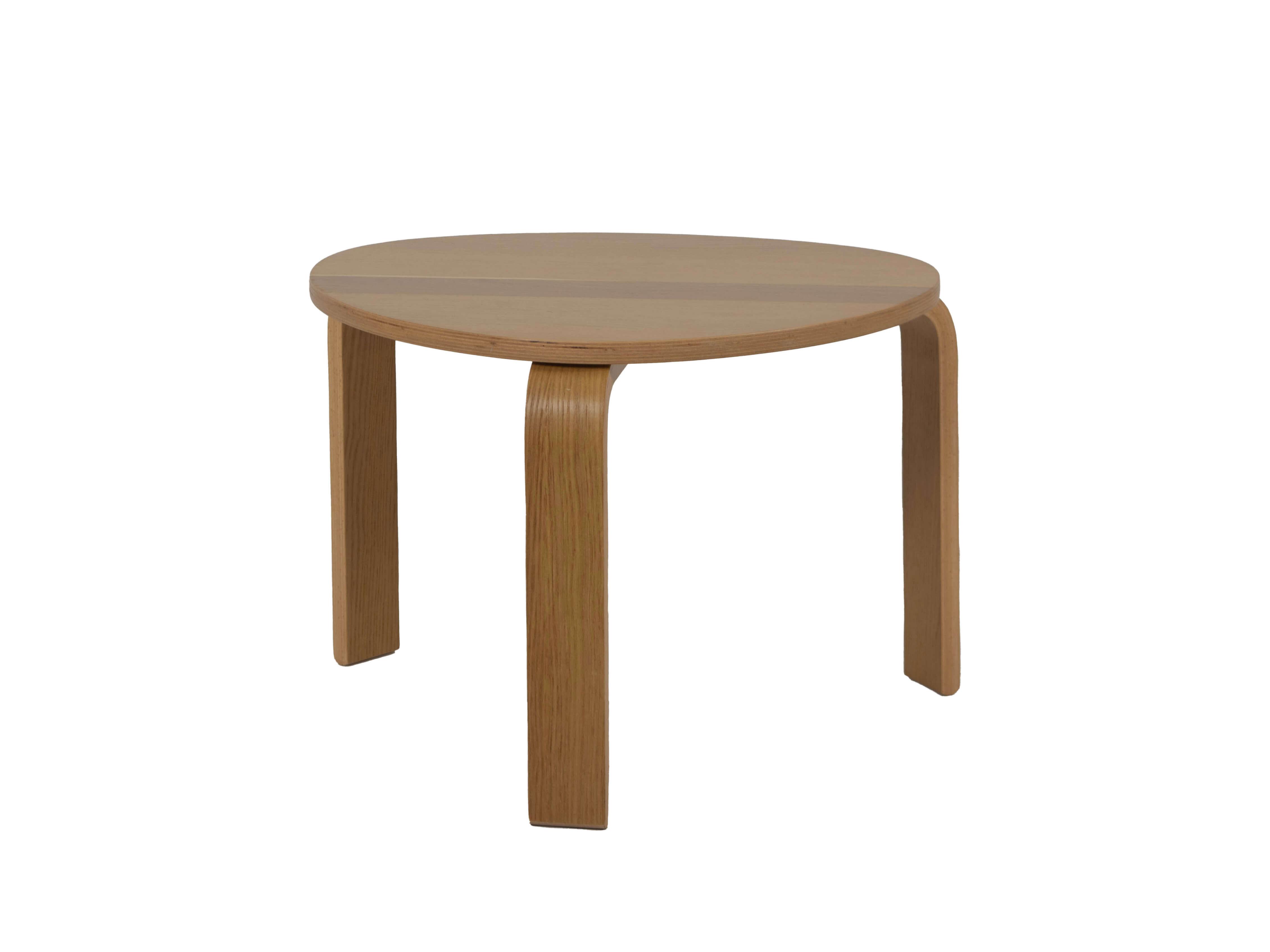 Alvar Aalto Style Side Table, Denmark 1980s