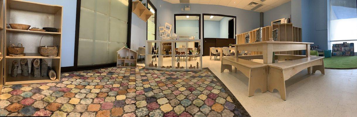Flamingo room panorama