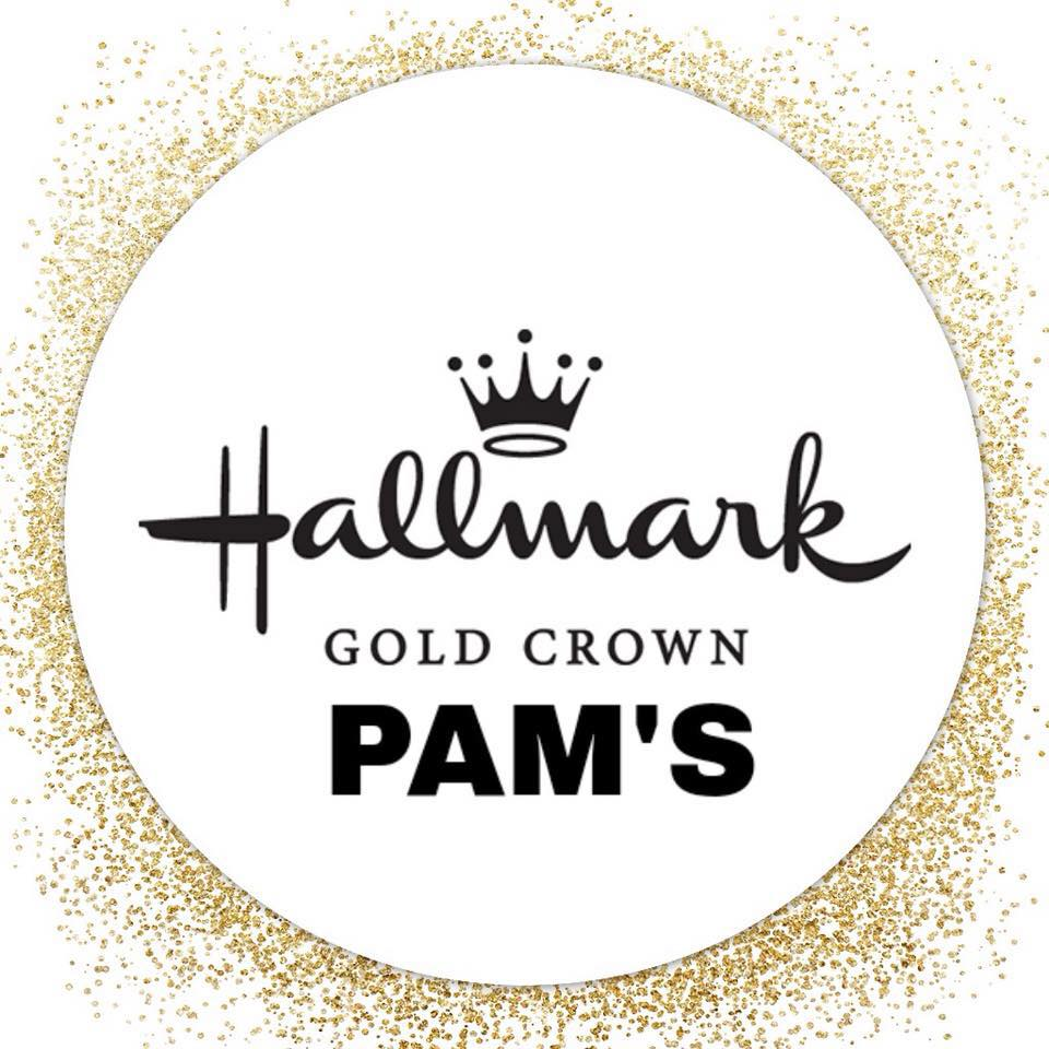 Pam's Hallmark Gold Crown Logo