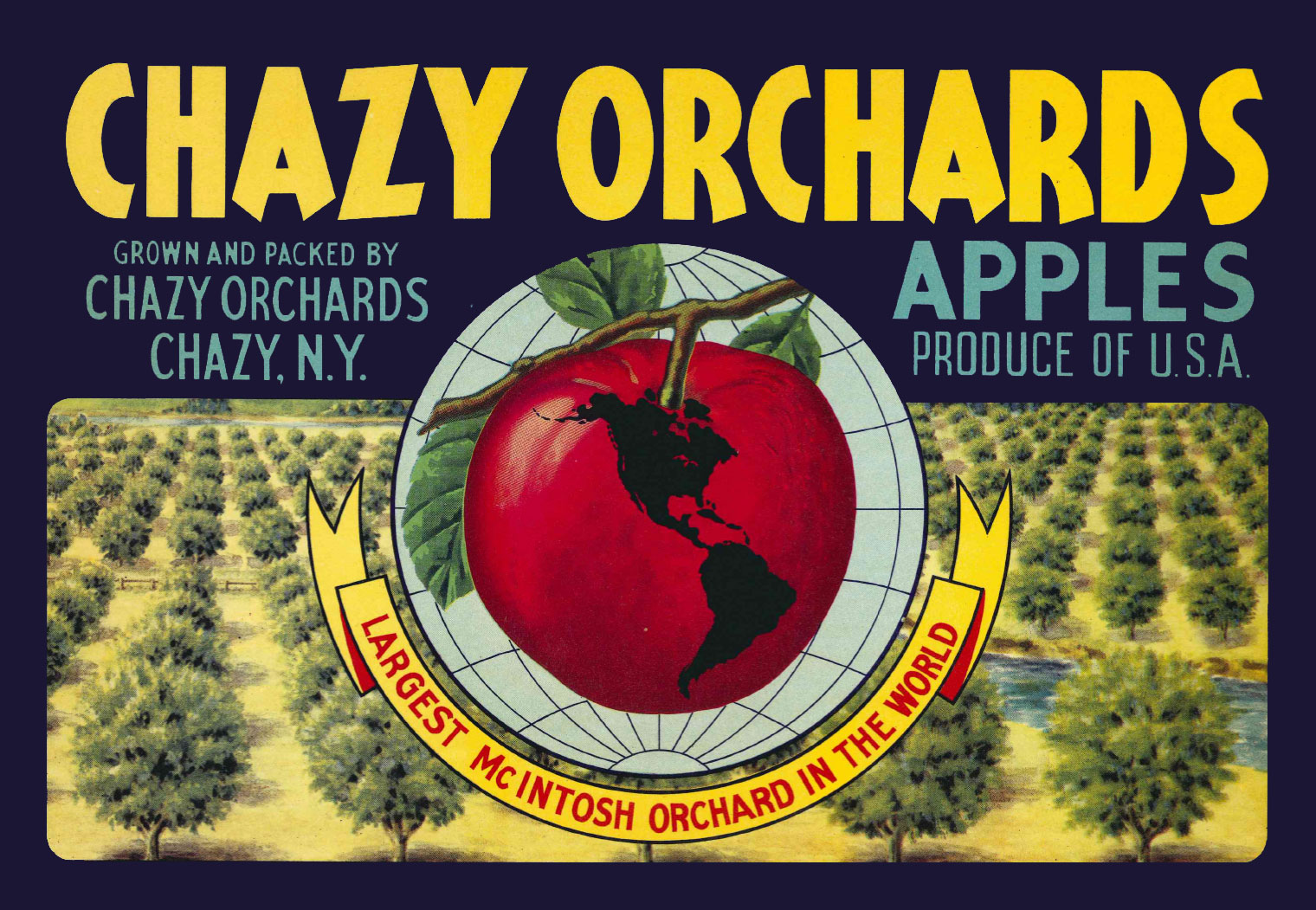 Chazy Orchards Logo