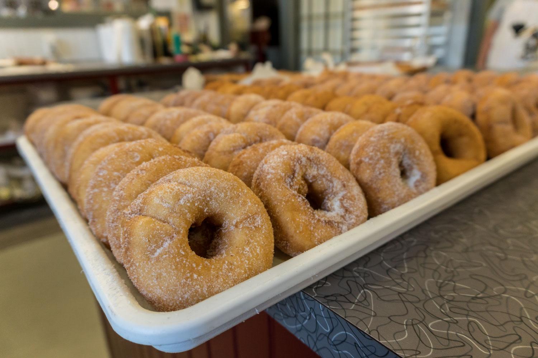 fresh cider doughnuts