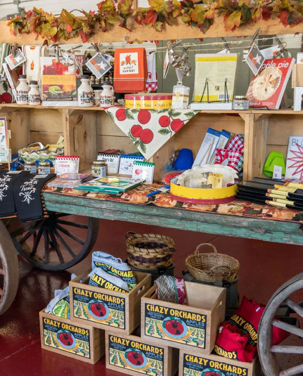 chazy orchards market store products