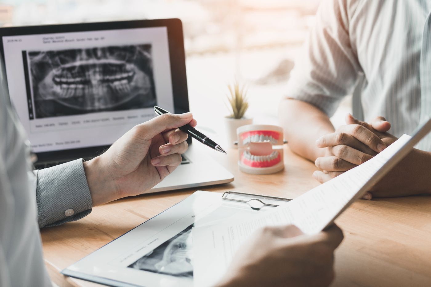Consultation with your Spartanburg dentist