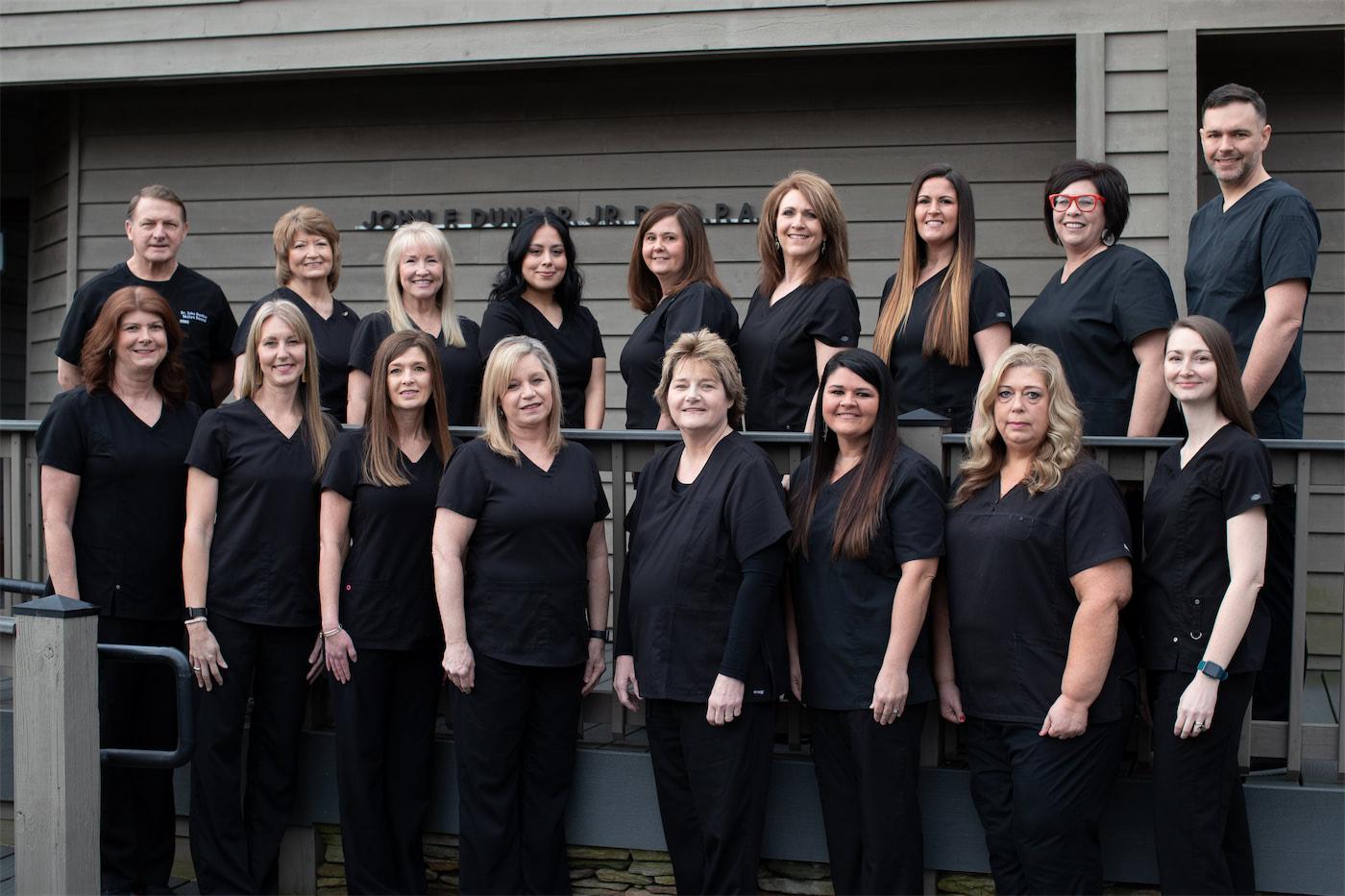 The Spartanburg dental team at Skylyn