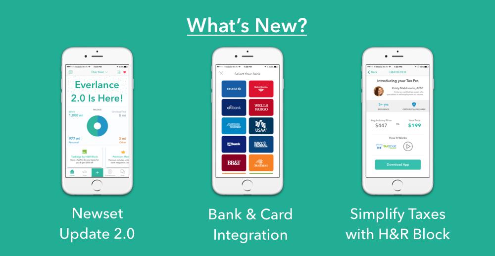 Everlance - bank and credit card integration