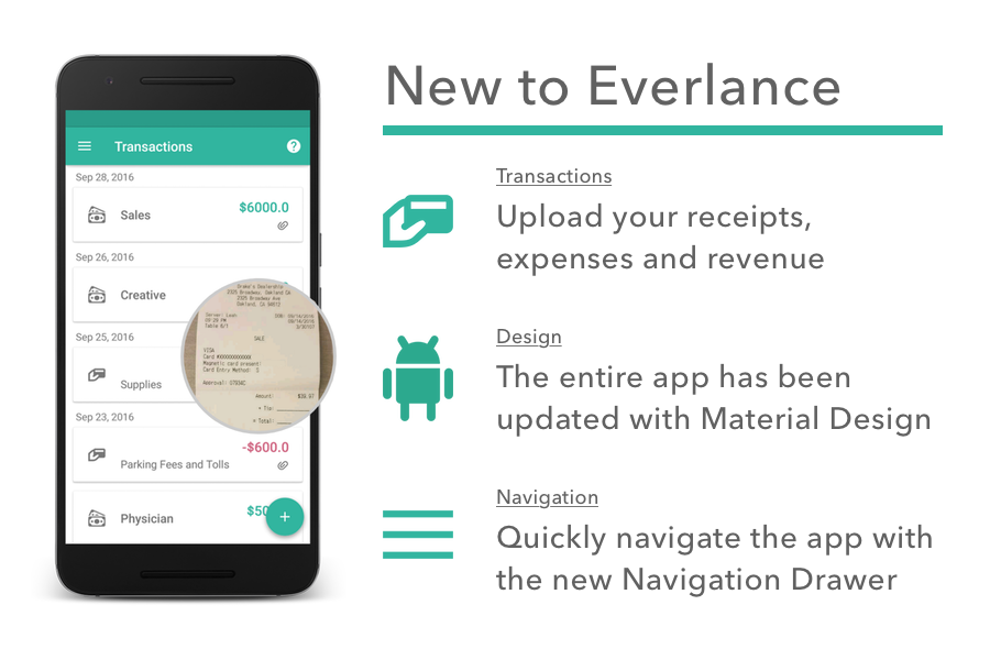 Everlance Android 1.1