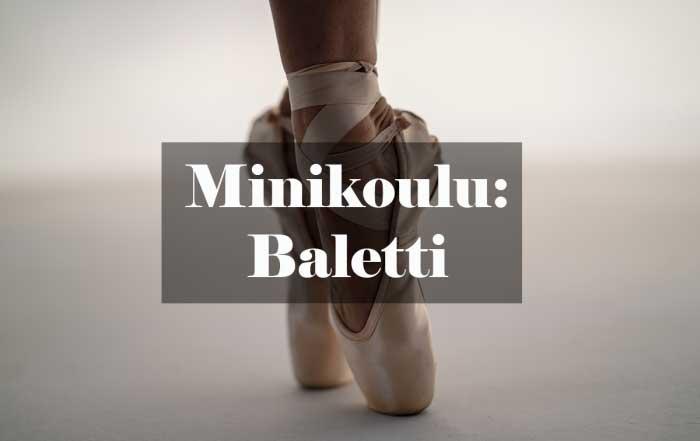 Minikoulu: baletti