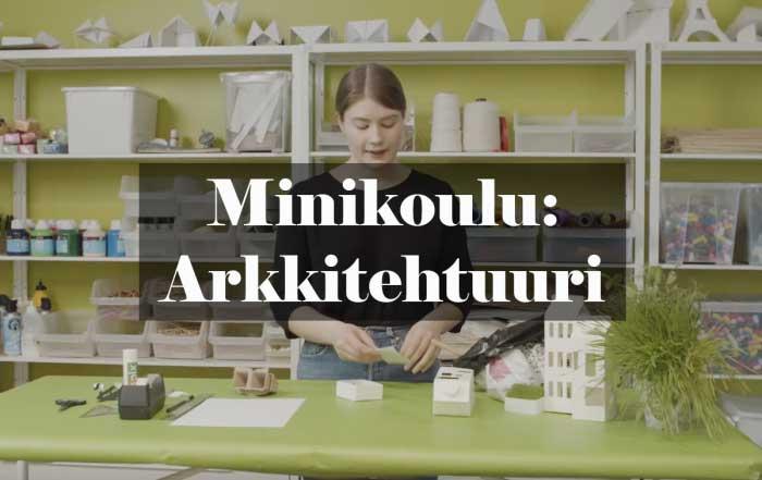 Minikoulu: arkkitehtuuri