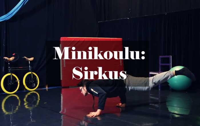 Minikoulu: sirkus
