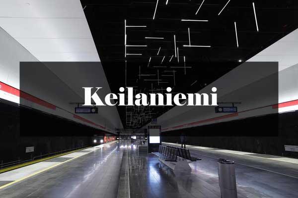 Metroarkkitehtuuri: Keilaniemi
