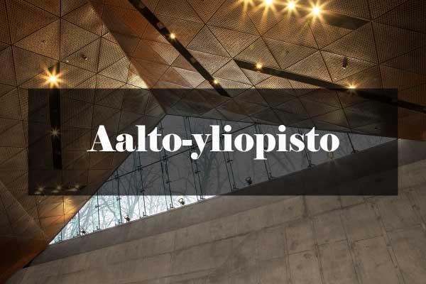 Metroarkkitehtuuri: Aalto-yliopisto
