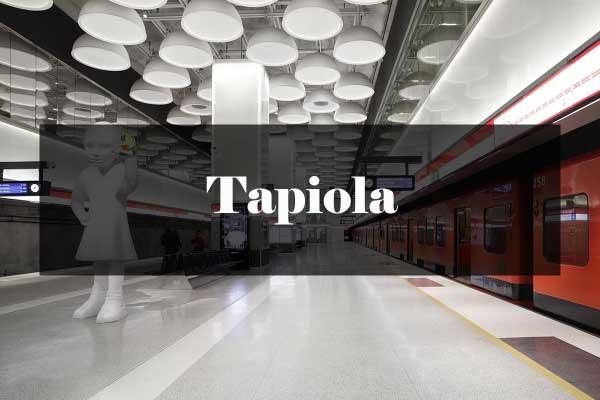 Metroarkkitehtuuri: Tapiola