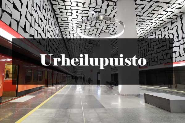 Metroarkkitehtuuri: Urheilupuisto
