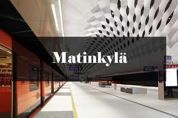 Metroarkkitehtuuri: Matinkylä