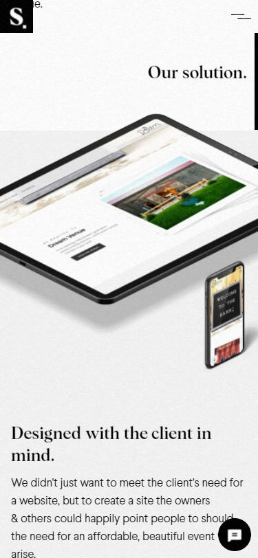 Sweven.design mobile screenshot
