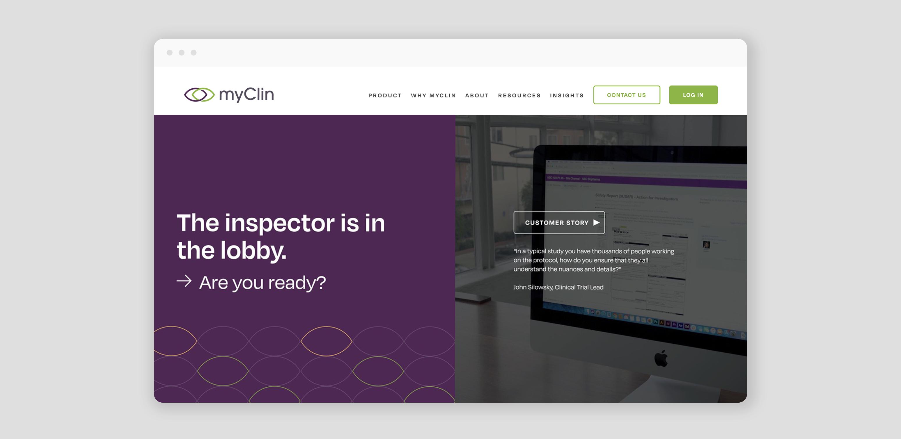 Building the New myClin Brand