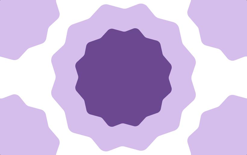 An image of jagged circles.