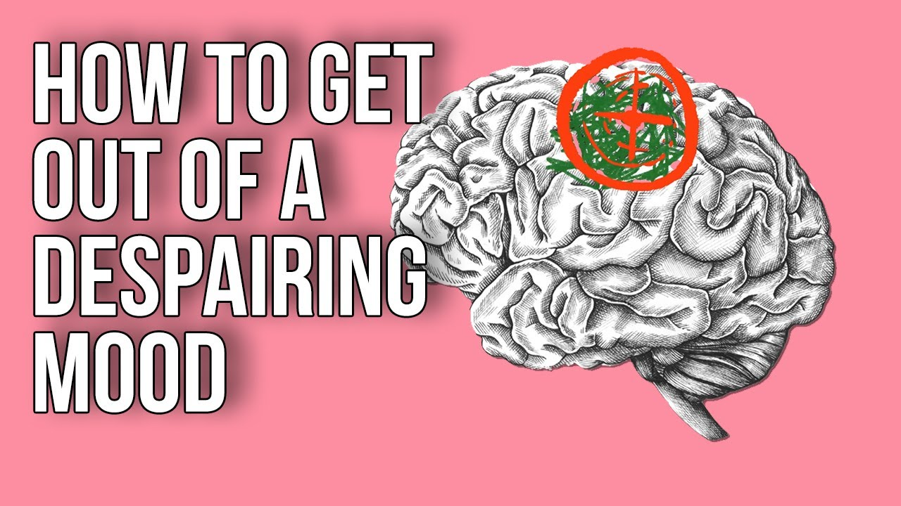 A Youtube thumbnail of an illustrated brain and the video title
