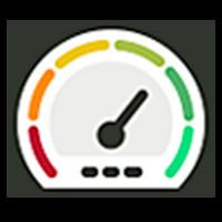 Increasing speedometer icon