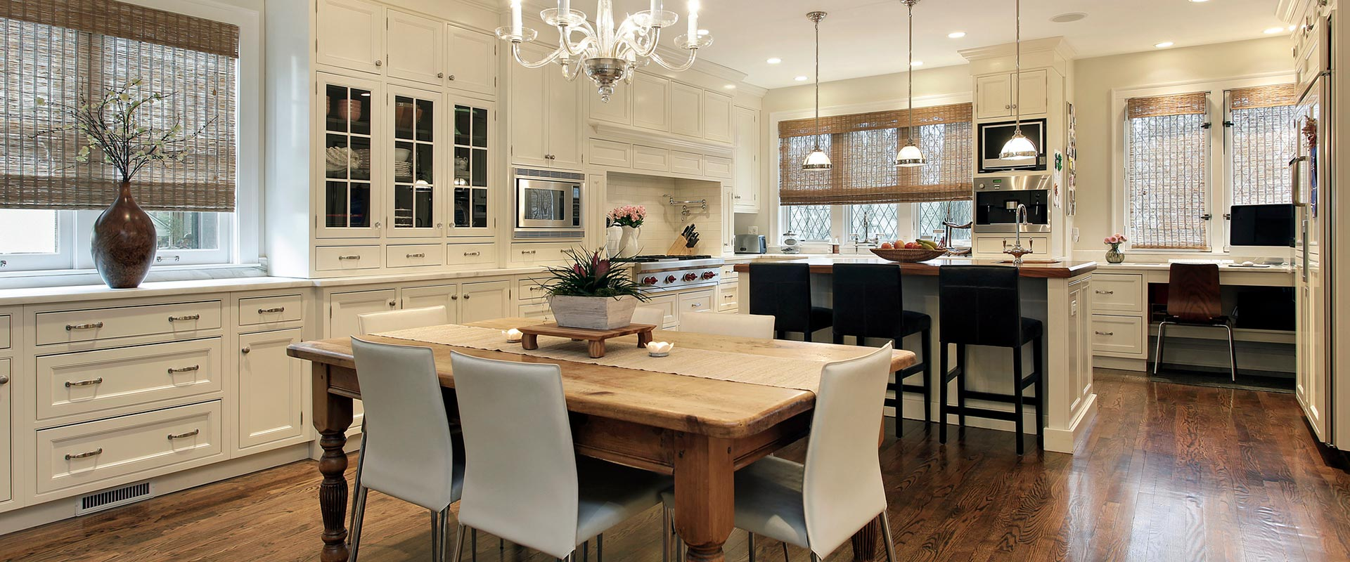 Image of a kitchen for house management