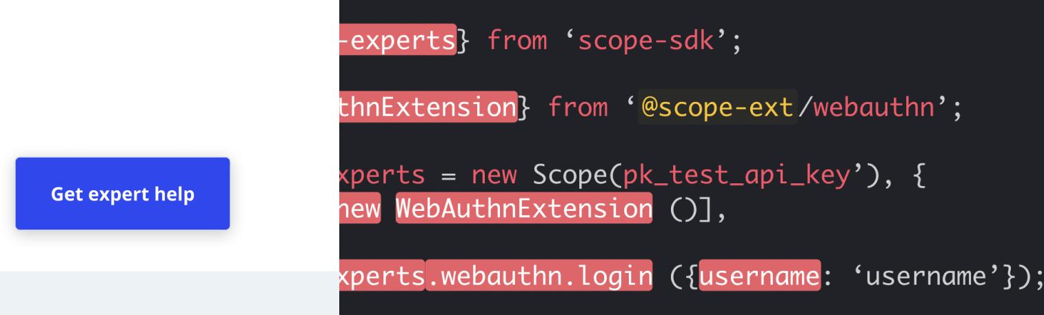 Scope Expert Talent API