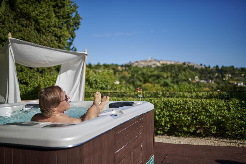 bain à bulle hotel la grande bastide