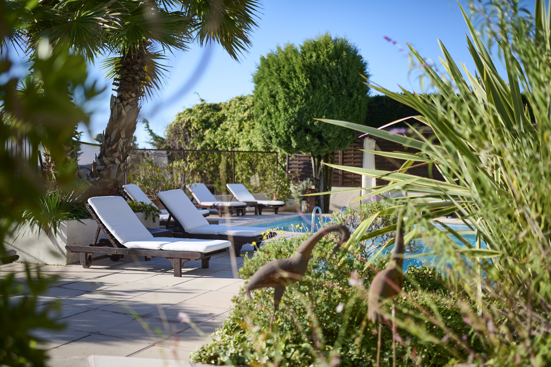 transat piscine hotel la grande bastide
