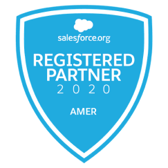 Salesforce registered partner logo