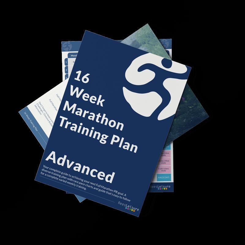 16 weeks training plan advanced Image