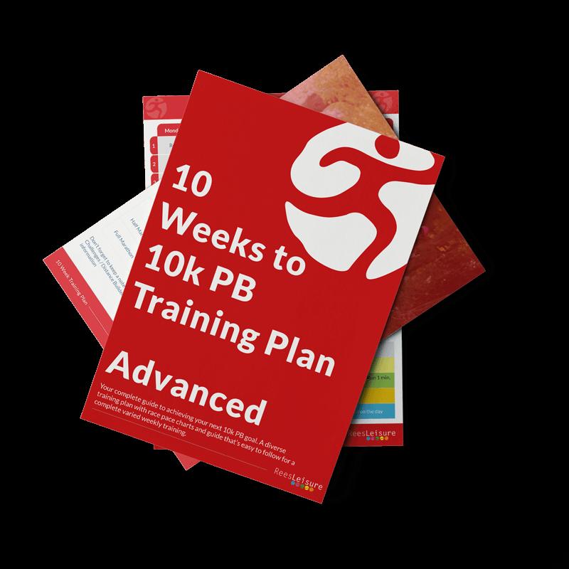 10 weeks training plan advanced image